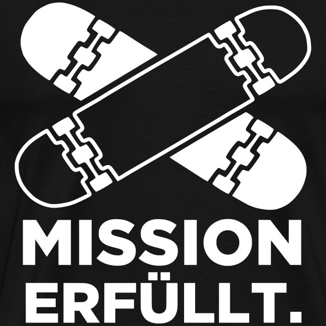 Mission erfüllt