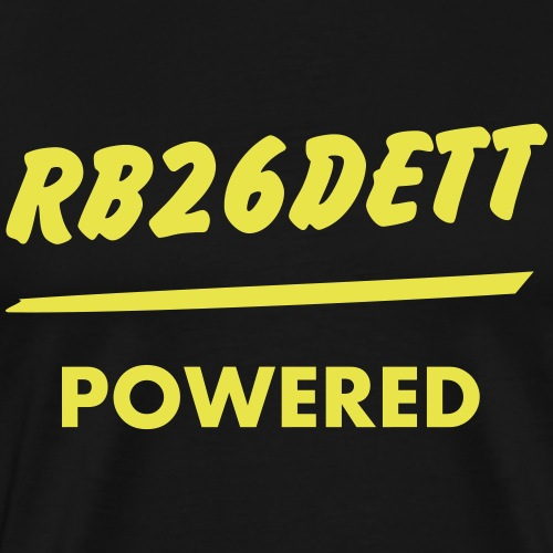 JDM Engine powered RB26DETT | T-shirts JDM - T-shirt Premium Homme