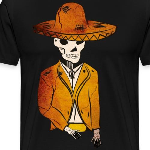 mariachi döda - Premium-T-shirt herr