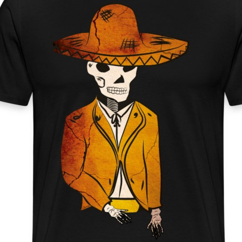 Mariachi morto - Maglietta Premium da uomo