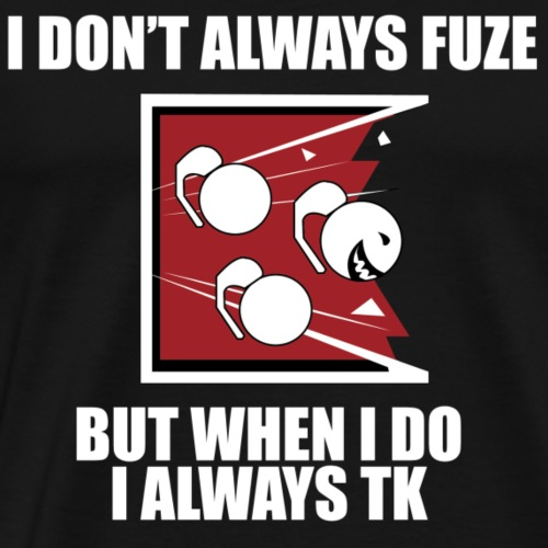 i always TK :) - Men's Premium T-Shirt