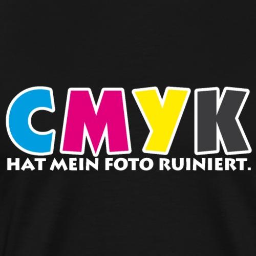 CMYK hat mein Foto ruiniert - Männer Premium T-Shirt