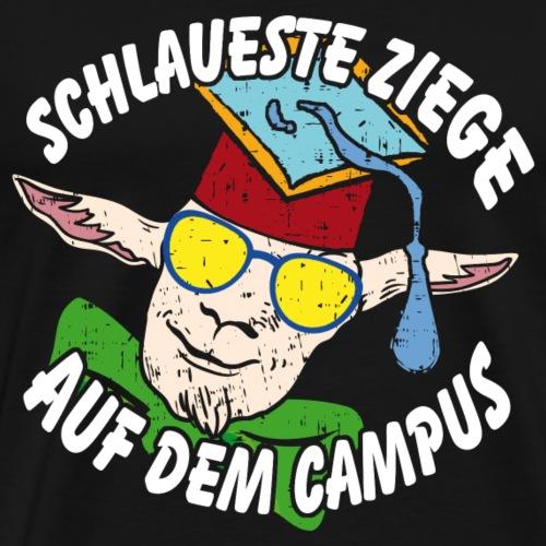 Schlaueste Ziege - Männer Premium T-Shirt