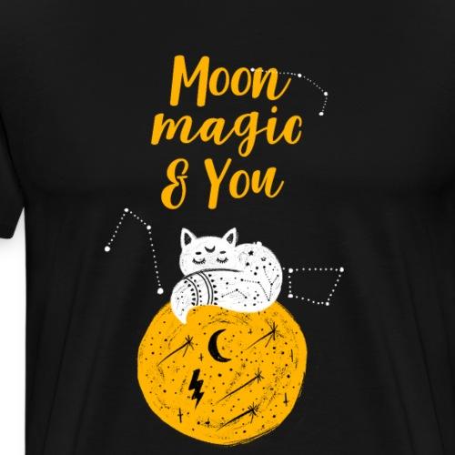 Halloween Moon Magic and you - Männer Premium T-Shirt