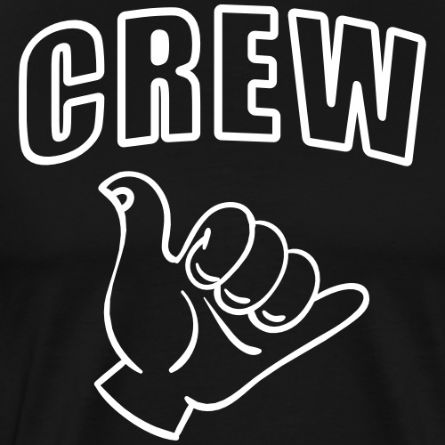 Crew Surfing Festival Party Crew - Männer Premium T-Shirt