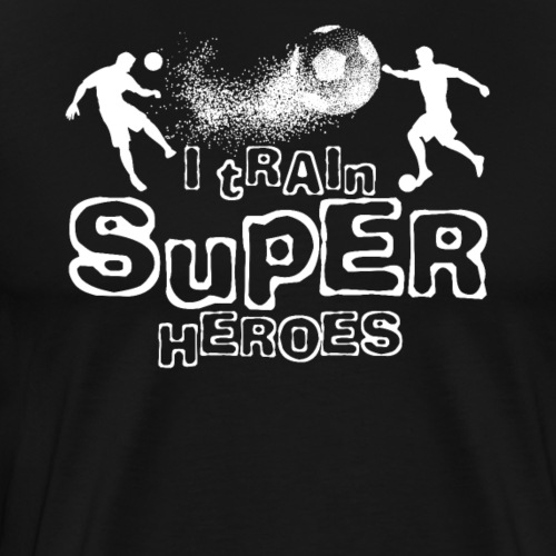 I TRAIN SUPER HEROES - Männer Premium T-Shirt