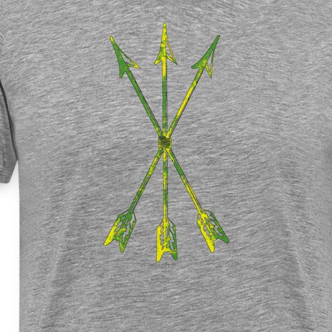 Scoia tael emblem green yellow