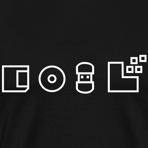 Cool Geek ! Stockages données - T-shirt Premium Homme
