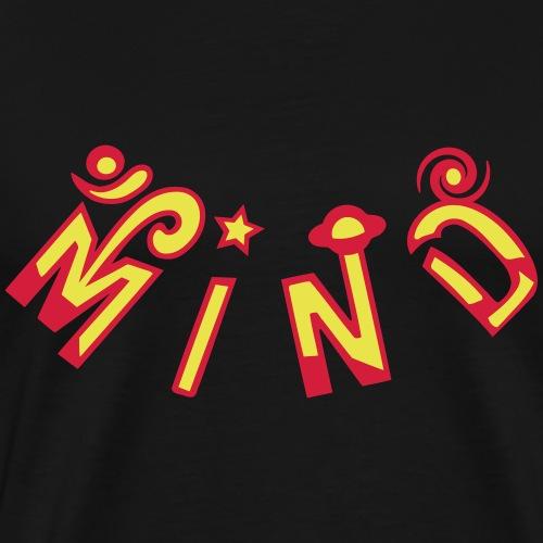 Om Mind - Herre premium T-shirt