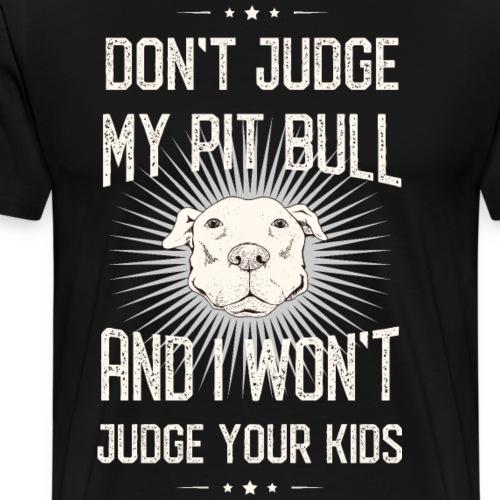 American Pit Bull Terrier - Männer Premium T-Shirt