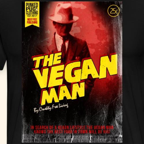 The Vegan Detective - Men's Premium T-Shirt