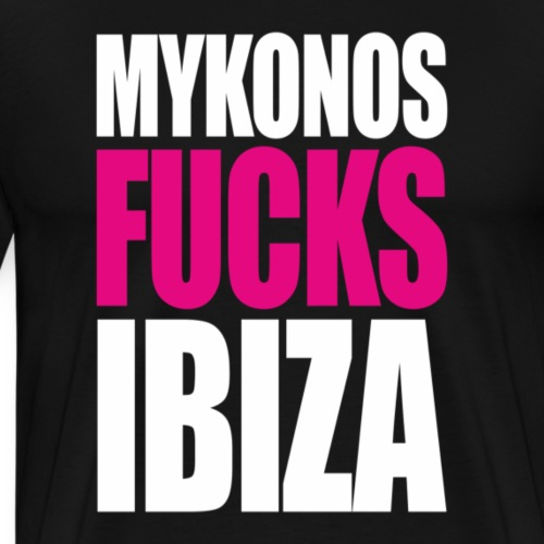MYKONOS VS IBIZA - T-shirt Premium Homme