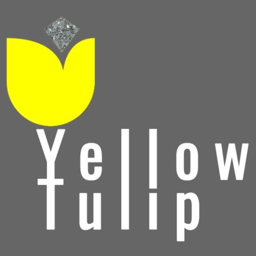 YellowTulipLogo White - Mannen Premium T-shirt