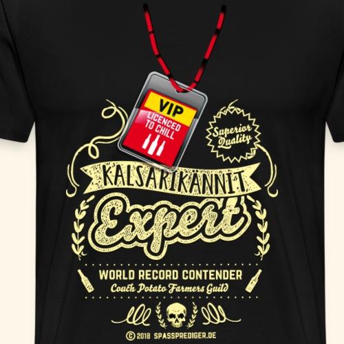 Kalsarikännit Expert T Shirt - Männer Premium T-Shirt