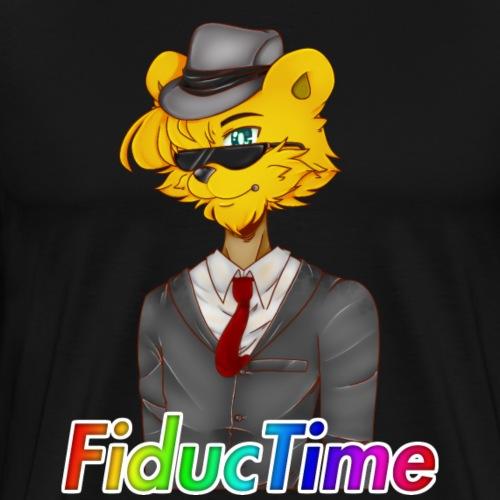 FiducTime Name + Character - Men's Premium T-Shirt