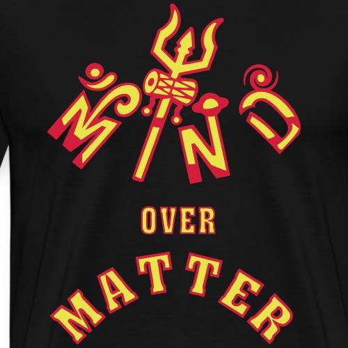 Mind over Matter - Premium T-skjorte for menn