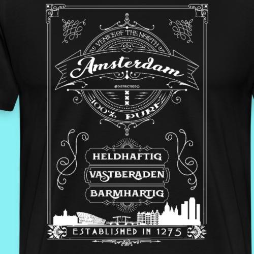 Amsterdam venice of the north - Mannen Premium T-shirt