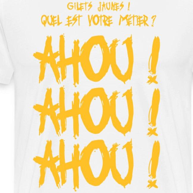 Gilets jaunes Ahou Ahou Ahou