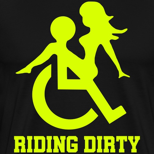 ridingdirty - Mannen Premium T-shirt