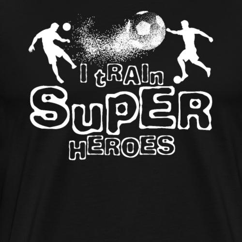 I TRAIN SUPER HEROES - Männer Premium T-Shirt