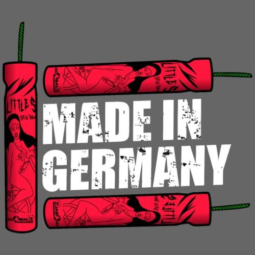 Silvester Feuerwerk Deutsche Knaller - Männer Premium T-Shirt
