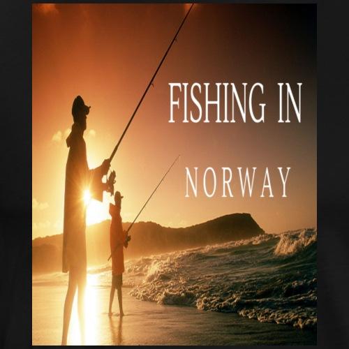 fishing in Norway - Männer Premium T-Shirt