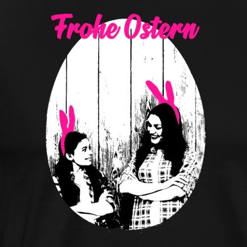 Frohe Ostern Geschenk Geschenkidee Familie - Männer Premium T-Shirt