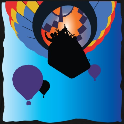 Hot Air Ballooning Flight - Men's Premium T-Shirt