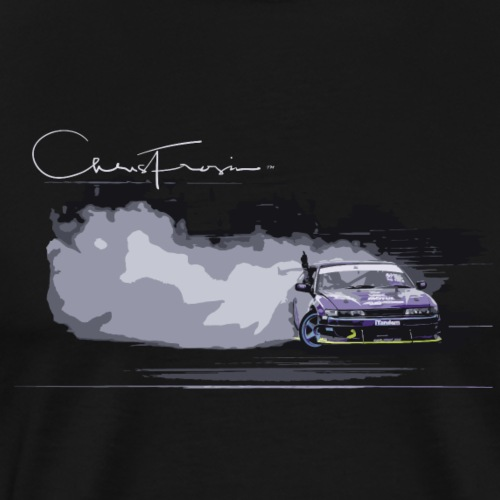 Chris Frosin Signature Series Purple Drift Design - Men's Premium T-Shirt