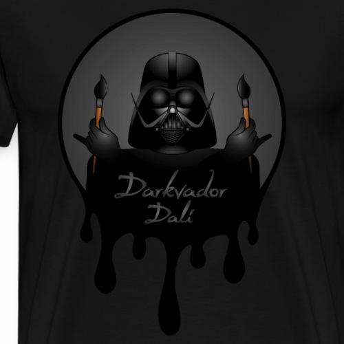 Darkvador Peintre - T-shirt Premium Homme