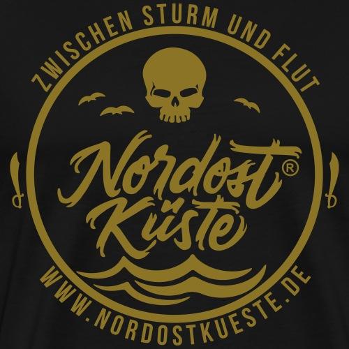 Nordost Küste Logo #15 - Männer Premium T-Shirt