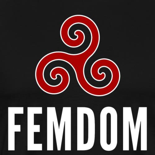 """Femdom"" – dunkle Textilien - Männer Premium T-Shirt"