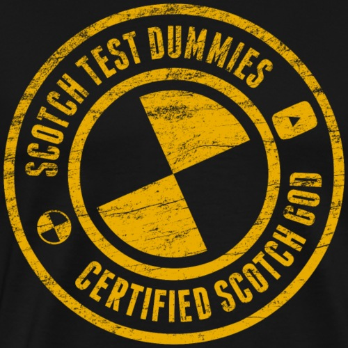 Scotch Test Dummies - Certified Scotch God - Men's Premium T-Shirt
