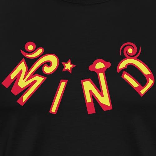 Om Mind - Premium T-skjorte for menn