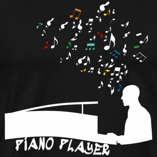 Piano Player Shirt Geschenk - Männer Premium T-Shirt