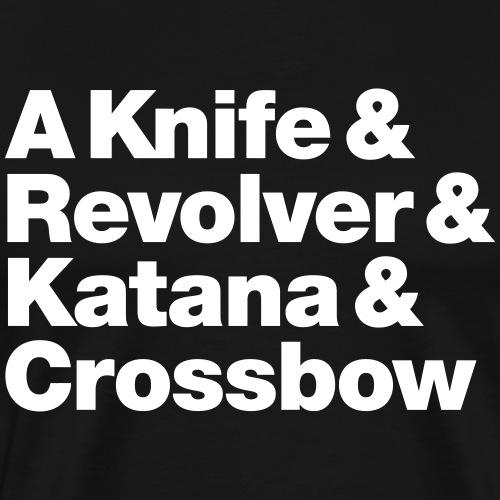 Zombie Weapons - Männer Premium T-Shirt