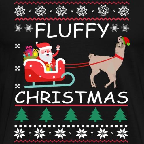 Alpaca Christmas - Männer Premium T-Shirt