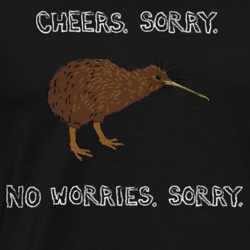 Sorry Kiwi - Männer Premium T-Shirt