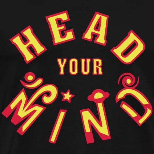 Head Your Mind - Men's Premium T-Shirt