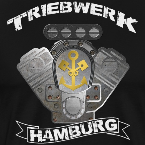 Triebwerk Hamburg Metal Edition - Men's Premium T-Shirt