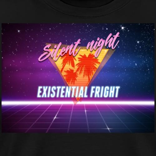 Silent Night, Existential Fright - Men's Premium T-Shirt