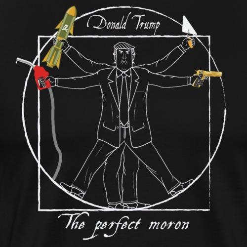 Donald Trump : Le parfait crétin I - T-shirt Premium Homme