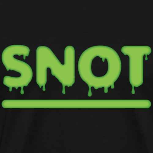 Snot - Mannen Premium T-shirt