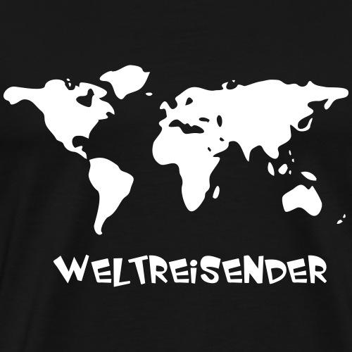 Weltreisender - Männer Premium T-Shirt