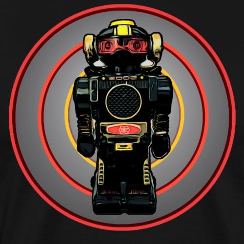 Lustiges Retro Roboter T-Shirt Geschenkidee Kinder - Männer Premium T-Shirt