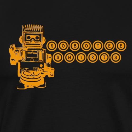 Cooles Gamer retro T-Shirt Roboter Geschenkidee - Männer Premium T-Shirt