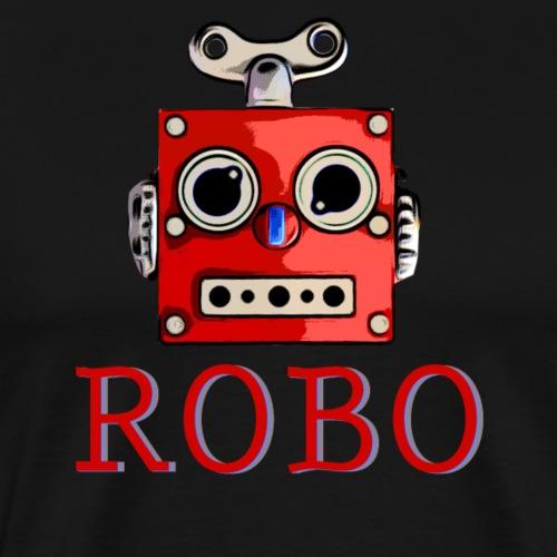 Cool retro Roboter Robot Scifi T-Shirt Geschenk - Männer Premium T-Shirt