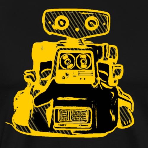 Lustig Robot Science Fiction T-Shirt Geschenkidee - Männer Premium T-Shirt
