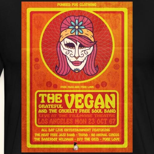 The Grateful Vegan Show - Men's Premium T-Shirt