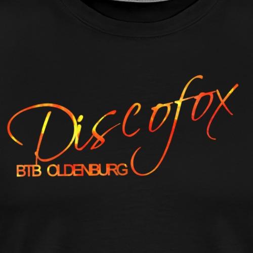Discofox im BTB Lava - Männer Premium T-Shirt